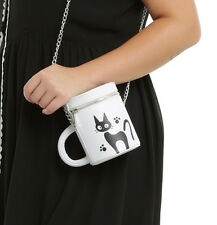 Studio Ghibli Kiki's Delivery Service JIJI Mug Crossbody Handbag Purse Tote NEW