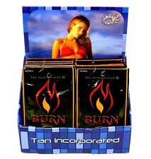 """TAN INC """"BURN"""" TOTAL HEMP COMPLEX EXTREME HEAT DARK TAN CREAM, LOT OF 20 PKTS"""
