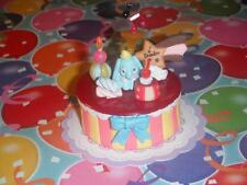 Disney Dumbo Rement Bday Cake fits Fisher Price Loving Family Dollhouse Dolls