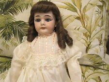 "EXQUISITE 26"" BISQUE GERMAN DOLL MARKED A.P. (ADOLF PROUZA) BOHEMIA 1903"