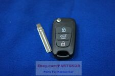 2011 2012 KIA SORENTO R Remote Control Folding Key Keyless SET Genuine Parts OEM
