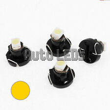 GIALLO SMD LED t3 Neo Wedge 12v LAMPADINA LED Interni
