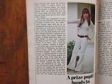 July 1, 1972 TV   Guide (ROOM  222/JUDY  STRANGIS/CAROL   BURNETT/GARRICK  UTLEY