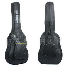 High Quality Padded Full Size Acoustic Classical Guitar Bag Case Cover Black