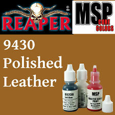 POLISHED LEATHER 9430 -MSP 15ml 1/2oz pot peinture figurine REAPER MINIATURE