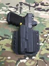 Black Kydex Light Bearing Holster Glock 19/23/32 Inforce APL