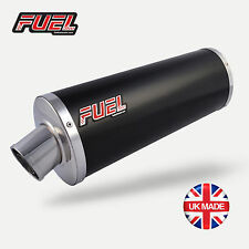 Honda Transalp XL650V Classic Black Stainless Oval Midi UK Road Legal Exhaust