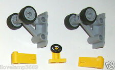 LEGO Airplane UnderCarriage Wheels 4SET 7894 7260 7683 60035 7685 7893 8182 3367