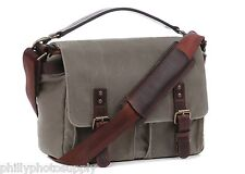 ONA Prince Street Smoke Canvas Camera / Messenger Bag - Handcrafted Premium Bags