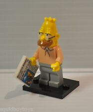 ABE SIMPSON (The Simpsons) Lego Series 1 MiniFig / Minifigure complete