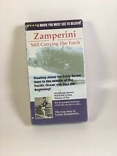 Zamperini: Still Carrying The Torch VHS 1992 Tested And Working Christianity