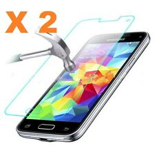 2 X Samsung Galaxy S5 Mini SM- G800 Tempered Glass Screen Protector Guard