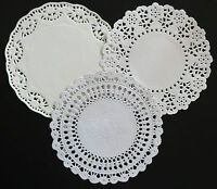 "ASSORTED 14CM OR  5.5"" EMBOSSED PAPER LACE DOILIES PACK X 18"