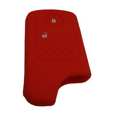 Red 2BTN Remote Key Fob Case Shell Silicone Cover Fit For Honda Crosstour 12 CRV