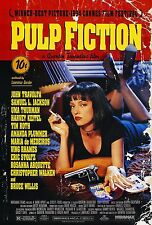 "Pulp Fiction (1994) Movie Poster New 24""x36"" Tarantino Travolta Thurman Jackson"