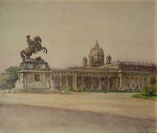 Josef KÖPF (Wien 1873-1953) Heldenplatz in Wien.
