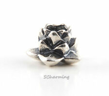 Authentic Trollbeads Silver Lotus 11135 (Incl. Orig. Packaging)