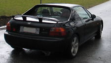 HONDA CRX DEL SOL FACTORY STYLE BOOT LIP SPOILER. CR-X DELSOL HATCH TRUNK WING