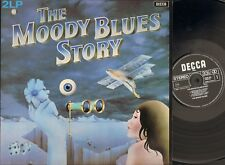 MOODY BLUES Story 2 LP GATEFOLD Nights in White Satin GO NOW I'm Just a Singer