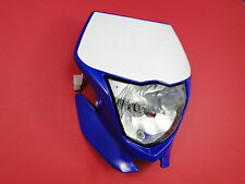 YAMAHA WR 250 450 F  HEADLIGHT FRONT 07 NEW ORIGINAL LAMP FANALE ANTERIORE MASKE