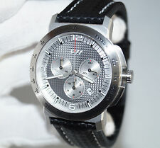 Genuine Porsche 911 Swiss Made Men`s Women`s Chronograph Watch / Carbon Strap