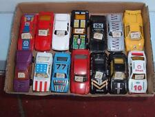 A JOB LOT OF 14 CARS MATCHBOX CORGI IN USED CONDITION VINTAGE C PICS