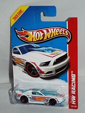 Hot Wheels New For 2013 Casting  HW Racing '13 Ford Mustang GT White Race Team