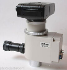 Nikon HFX-IIA Shutter View FX-35WA Camera for Microscope Photomicography - USED
