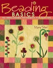 Beading Basics: 30 Embellishing Techniques for Quilters-ExLibrary