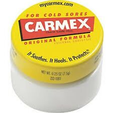 Carmex For-Cold-Sores Lip Balm 0.25 oz (Pack of 4), New