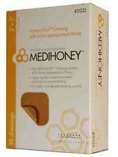 "3 Pack -Medihoney 31222 Honeycolloid Non Adhesive Wound Dressings 2"" x 2"" FAST!"
