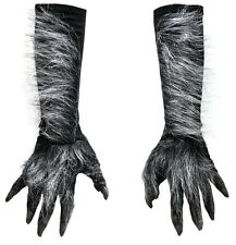 ADULT WEREWOLF HANDS LATEX GLOVES COSTUME DRESS ACCESSORY 1015GBS NEW