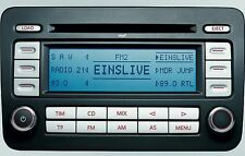 VW RCD 500 MP3 mit 6 fach CD Wechsler Radio VW GOLF EOS CADDY PASSAT TOURAN