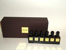 TOM FORD PRIVATE BLEND COLLECTION MINI SET 6x12ML JASMIN TUSCAN LEATHER OUD WOOD