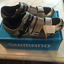 NOS Men's Shimano SH-RT80 Road/Spin Shoes 2-Bolt SPD Size 44 EURO; 9.7 US