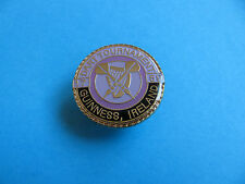 GUINNESS DARTS Tournament pin badge. VGC. Unused, Enamel.