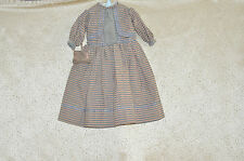 Vintage Dress with Matching Purse for Antique or Early Vintage Doll