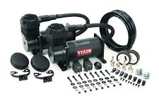 Viair 400C Stealth Black Dual Value Pack With Pressure Switch & Relays