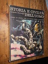 Storia e civiltà dell'uomo Corso di storia Montanari vol. 3 1970 L2