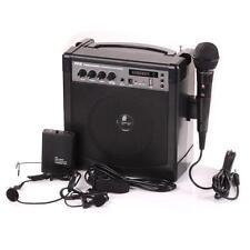 New Portable PA Speaker Amplifier & Microphone System, Bluetooth, Rechargeable