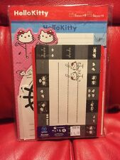 Sanrio Original Hello Kitty Japan Stick Figure Stationary Letter Set 2008