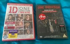 ONE DIRECTION Where We Are Live San Siro Stadium 2014 & This Is Us Dvd Free Post
