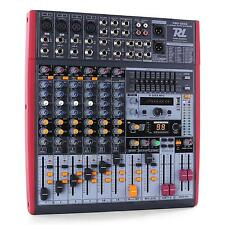 MIXER DE STUDIO PA POWER DYNAMICS CONSOLE MIXAGE 8 CANAUX ENREGISTREMENT DSP USB