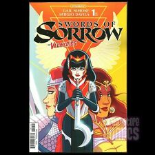 SWORDS of SORROW #1 Kate Leth VALKYRIES Exclusive VARIANT Gail Simone NM Rare!