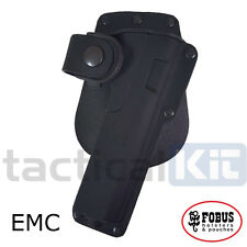 New Fobus Colt 1911 Tactical Light Laser Bearing Paddle HOLSTER EMC Holster