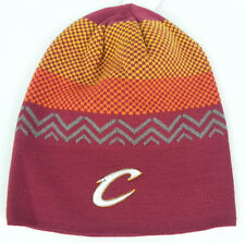 CLEVELAND CAVALIERS CAVS NBA MITCHELL & NESS VINTAGE UNCUFFED KNIT CAP HAT NWT!