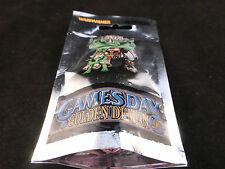 Gamesday 2007 GD07 edición limitada paquete sellado de aluminio Metal Orc Warboss