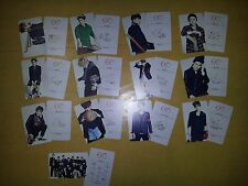 EXO K M plastic PHOTO CARD #2-1, Total 13 Sheet - monster lucky exodium lotto