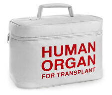 Human Organ Transplant Lunch Bag Box Cooler EMS DOCTOR EMT NURSE Funny Halloween