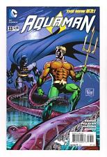 AQUAMAN 33 - THE NEW 52 (NM+) BATMAN: 75 YEARS VARIANT COVER (FREE SHIPPING)*